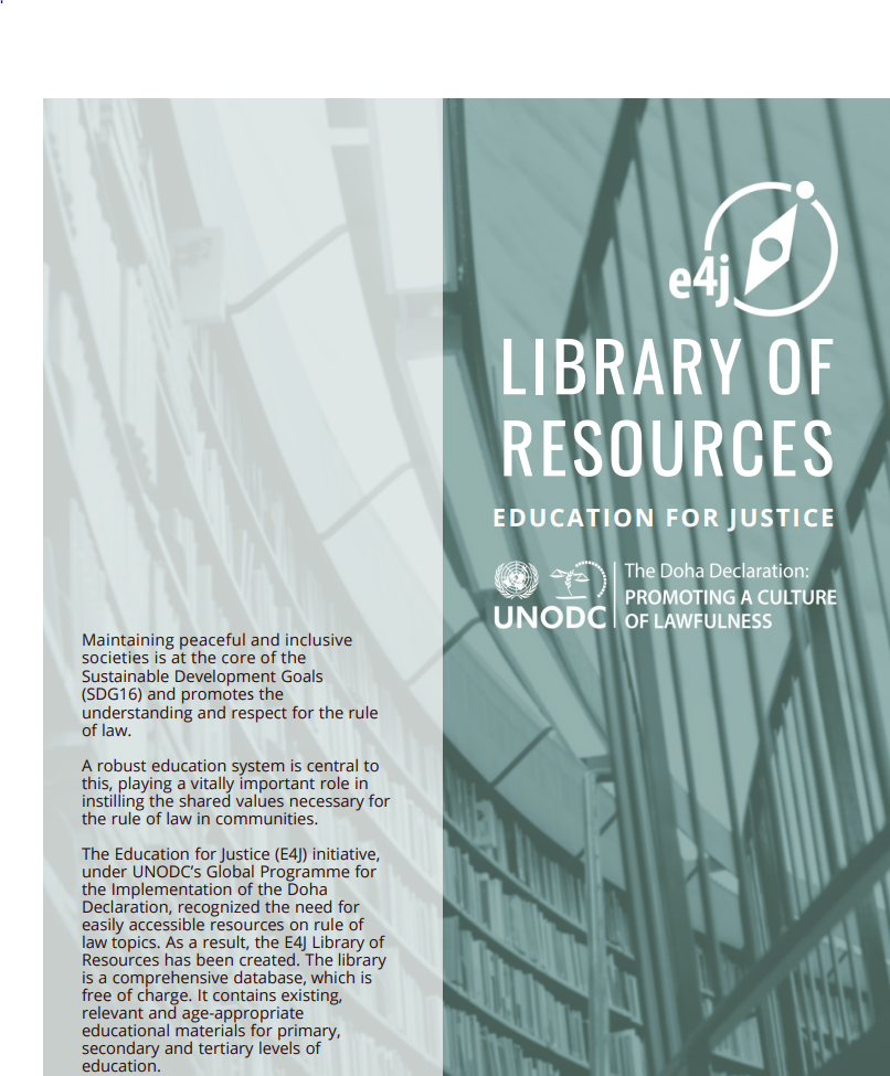 E4J Library of Resources