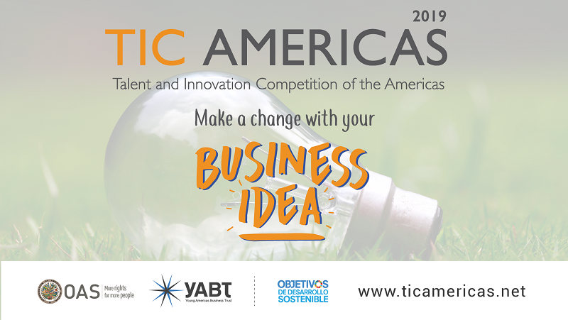 TIC Americas 2019 competition promotion
