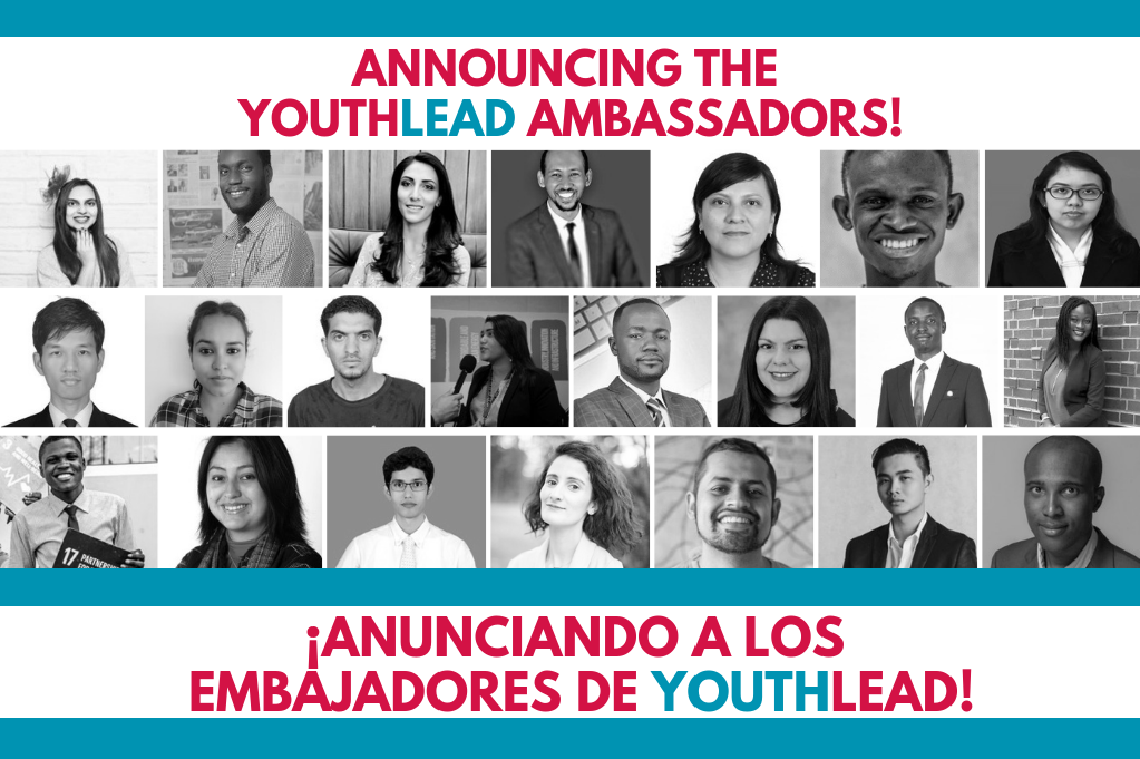 Announcement YouthLead Ambassadors (English and Spanish)