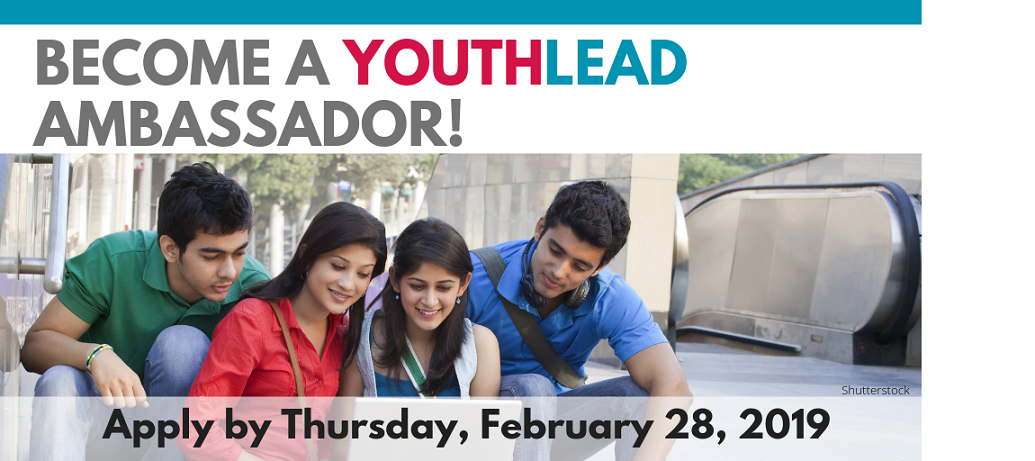 YouthLead Ambassador  call for applications