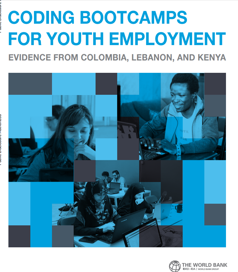 Coding Bootcamps for Youth Employment : Evidence from Colombia, Lebanon, and Kenya