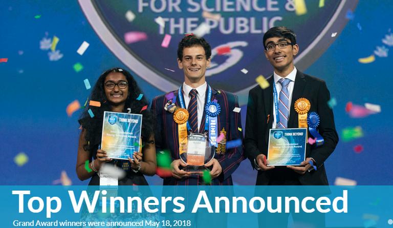 Science Fair Winners 2020.Intel International Science And Engineering Fair Intel Isef