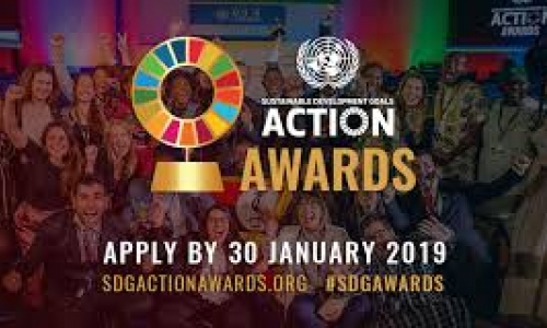 Apply: 2019 United Nations Sustainable Development Goals (SDG) Action Awards